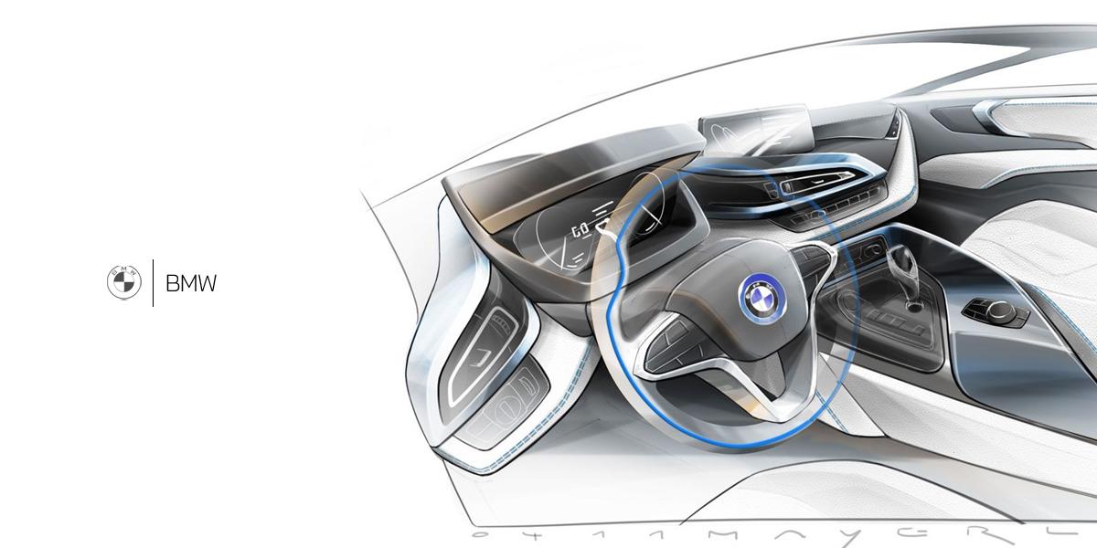 Штатная магнитола BMW